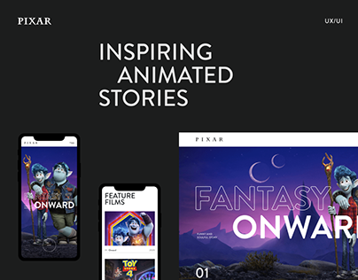 PIXAR — Website 2020