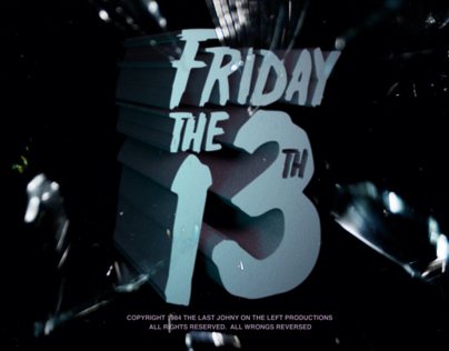Friday the 13th Title Recreation