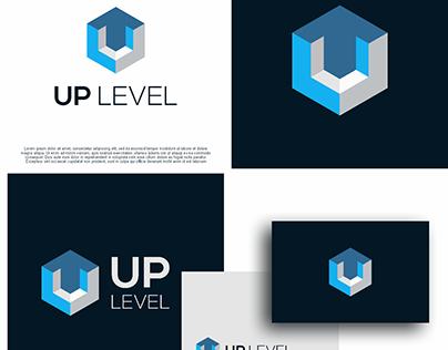 up level logo design