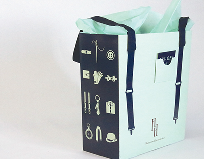 Haberdashery Shopping Bag