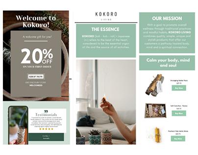 Kokoro Living Email Templates