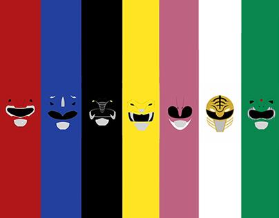 Papéis de parede Power Rangers