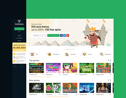 Estonian first-class online casino and game portal