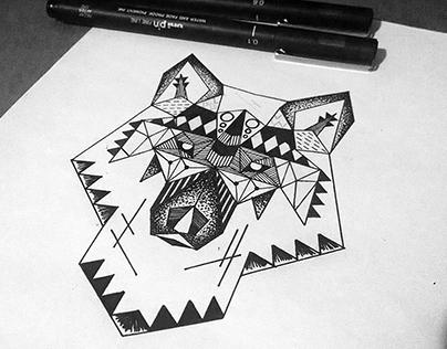 Illustration - Wolf