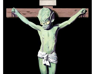 Saucer Christ