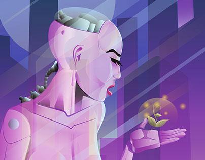 Lady Cyborg