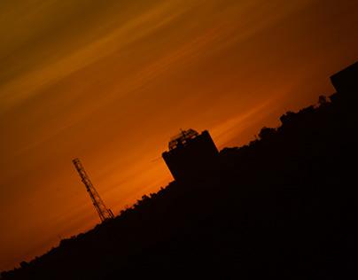 sunset nairobi