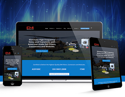 EMI Solutions Inc.   Website Design