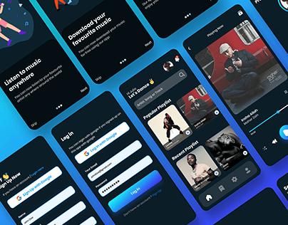 Mus Music App UI
