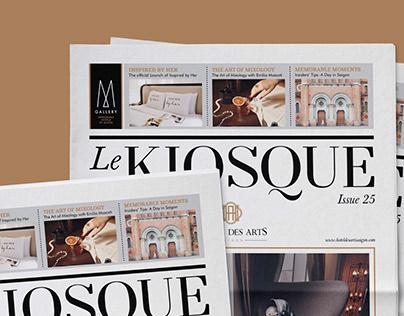 Newspaper | Le Kiosque