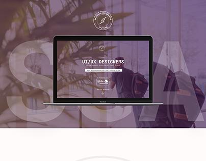 Design for Stutern Graduate Accelerator (SGA) website