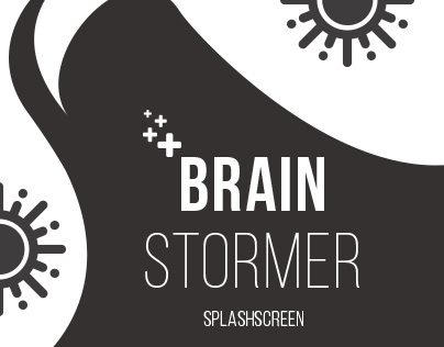 BrainStormer - Splash Screen