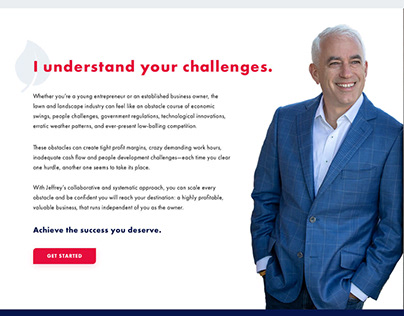 Jeffrey Scott - Rebranding & Web Design