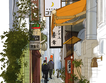 Streets of Kyoto 1