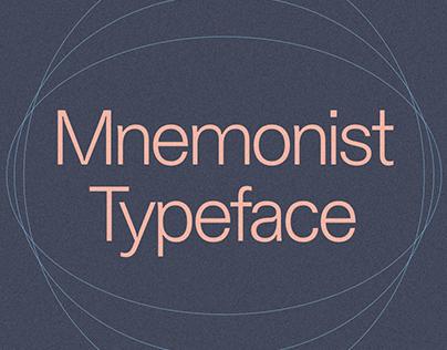 Mnemonist typeface