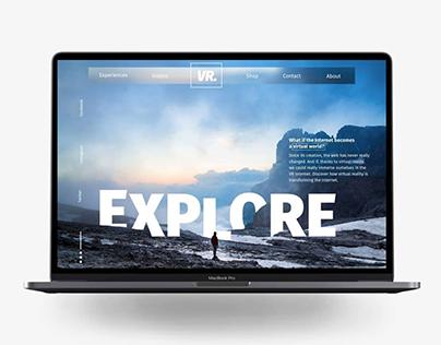 """Design """"Explore"""" — Projet personnel"""