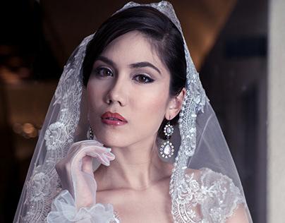 Wedding gown by Juliana Soo