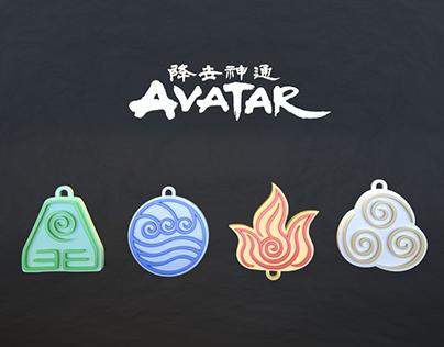 Avatar: The Last Airbender - 3D Printable Goodies