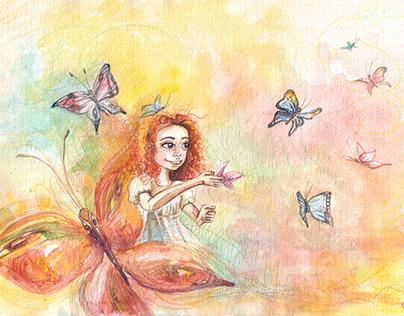 Launch a dreams/ Paleisti svajones//illustration