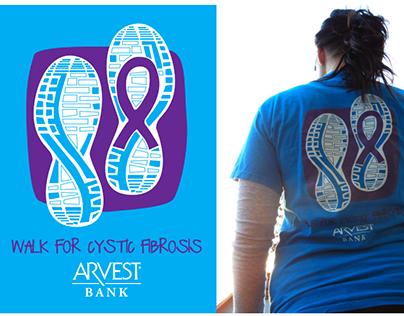 Cystic Fibrosis T-Shirt Design