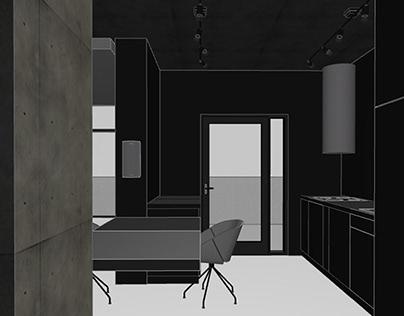 little black apartment