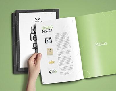 Nelipot - natural cosmetics / Graphic design