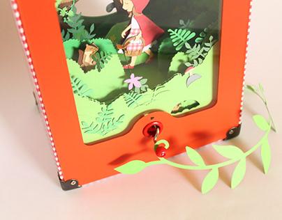 Capuchinho Vermelho   Automata . Caixa de Música