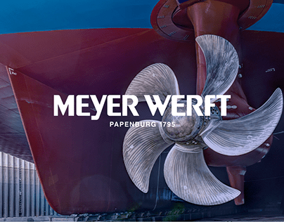 Meyer Werft — corporate website redesign