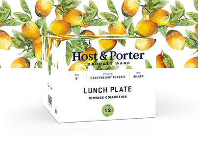 Host & Porter Brand, Packaging, and Website