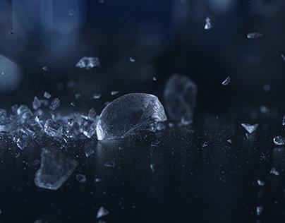 Freezing splash