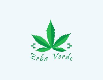 Logo concept for cannabis