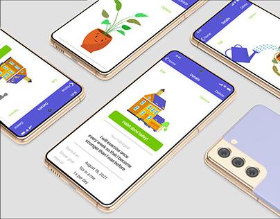 Fitness Mobile App Lottie GIF Animations