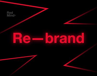 Re–brand