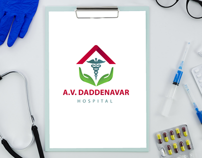 Hospital Logo Identity   Logo Design