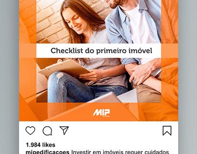 Instagram - MIP Edificações