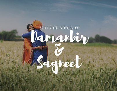 Damanbir & Sagneet - Pre Wedding Shoot