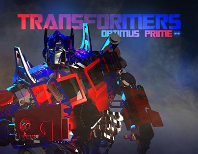 PJ SEM 3: Transformers - Optimus Prime