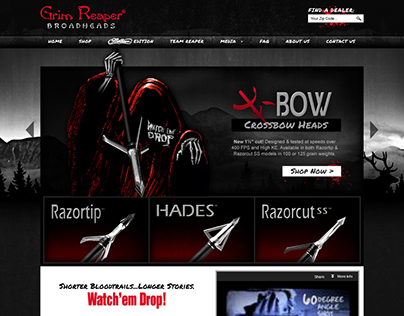 Grim Reaper Broadheads - 2013