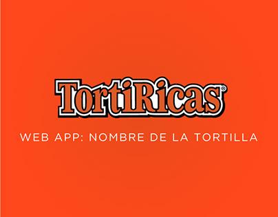 Dinámica nombre de la tortilla