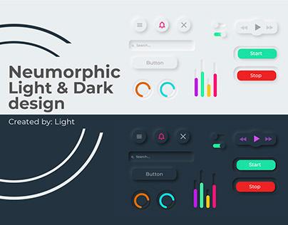 Neumorphic design