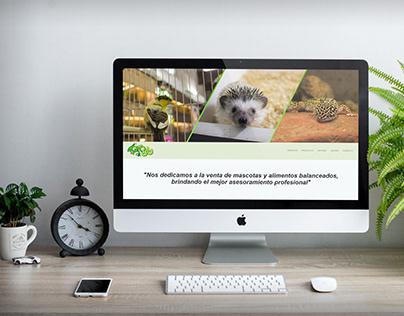 Web Design for Agro 80