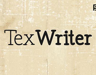 Tex Writer - Handmade Serif Typeface