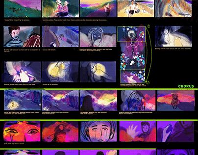 WIP - Storyboard for Arjanine
