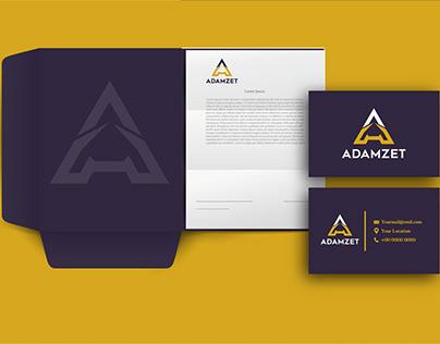 modern minimalist flat logo design And brand identity