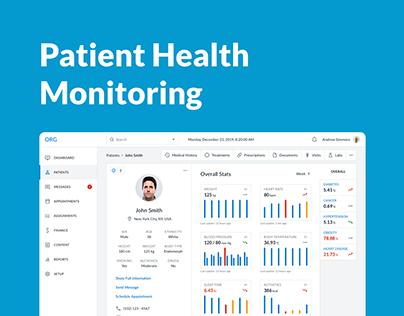 Patient Health Monitoring Platform