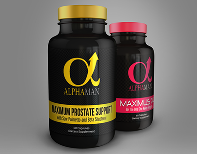 Branding and Packaging Design for AlphaMan