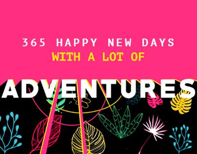 365 HAPPY NEW DAYS