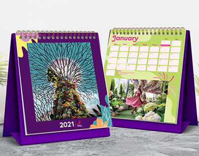 Gardens by the Bay Calendar / Red Packet