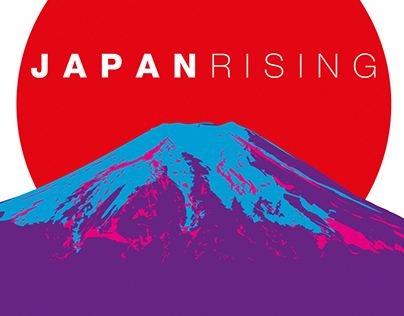 Japan Rising tour design 2014/2015