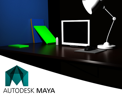 Mesa do PC (Autodesk Maya)